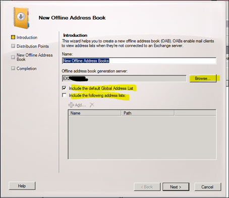 how to create a new microsoft exchange account