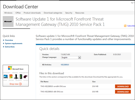 Question: How To Install Microsoft Threat Management Gateway