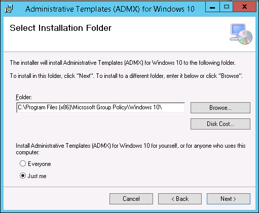 download office 2010 administrative template files adm