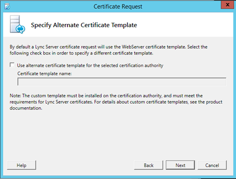 Renew lync server 2010 certificate windows server infrastructure yadclub Image collections