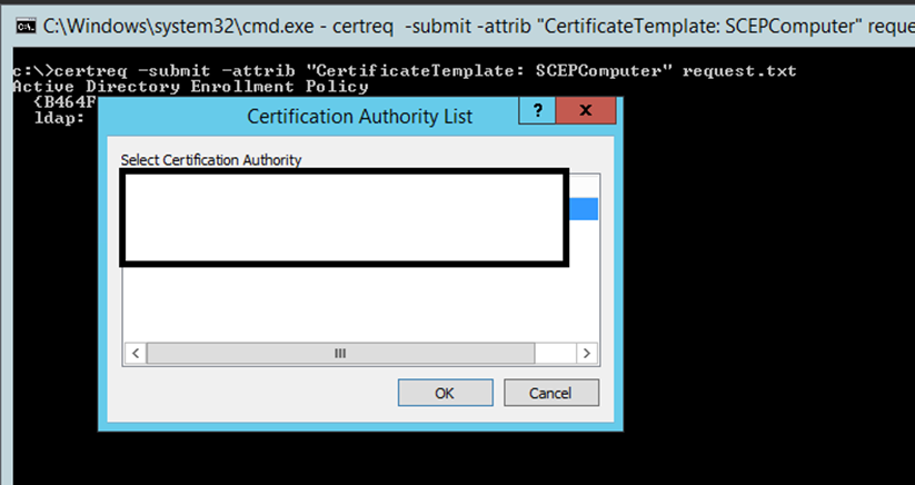 Ca error when requesting certificate from mmc using a r file yelopaper Image collections