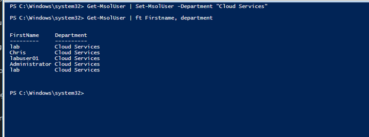 Edit multiple Office 365 Users Details Using PowerShell