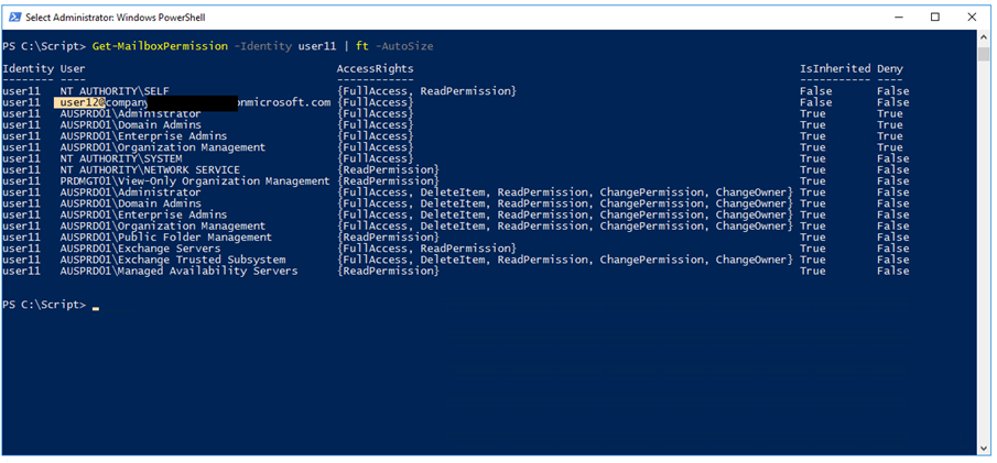 Give Full Access And Send As Permissions To Exchange Online Mailbox Using PowerShell