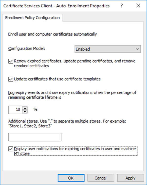 Certificate Auto-enrollment Using Group Policy And Windows Server